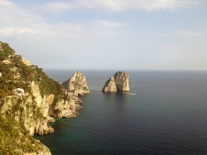 A Spring Break view of Capri in Southern Italy.