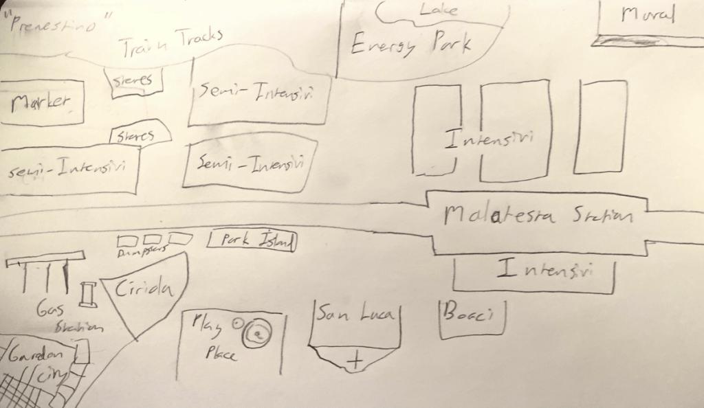 My Lynch Map of Prenestino