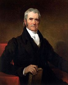 220px John Marshall by Henry Inman 1832