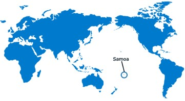 Where is Samoa?