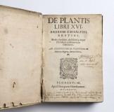 De Plantis, 1583, just a little bit moldy