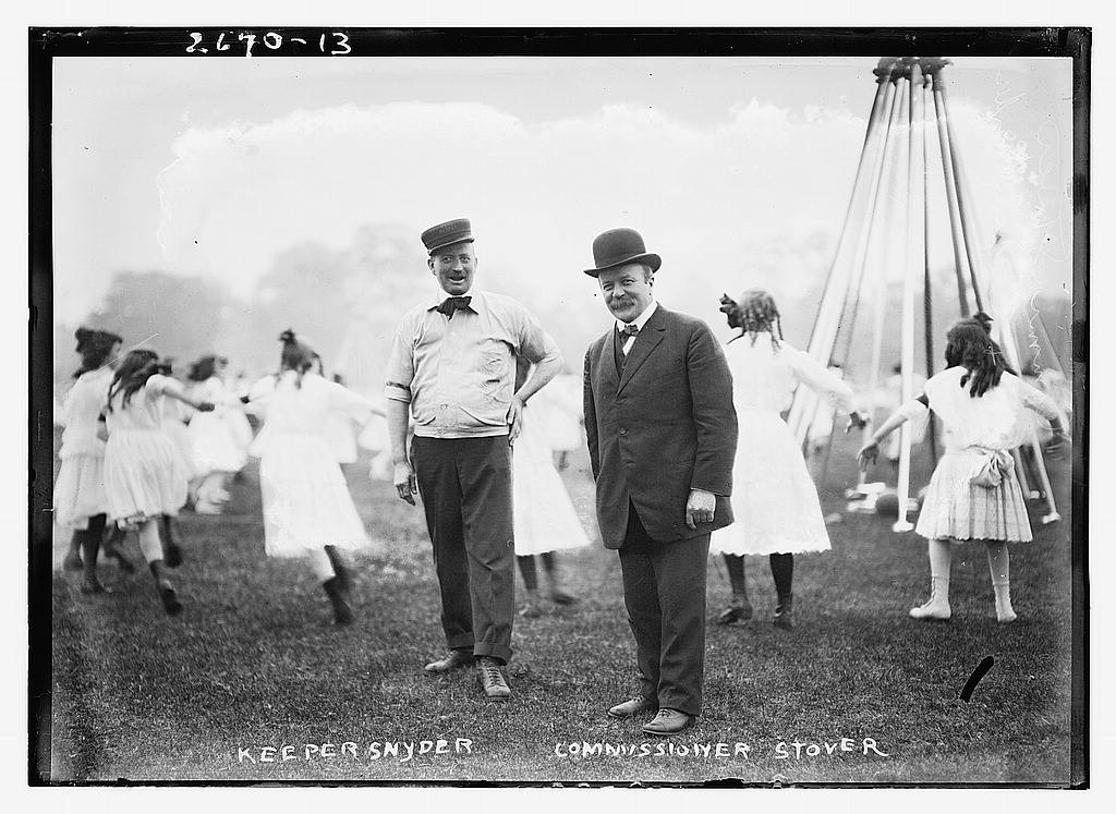 CHARLES BUNSTEIN STOVER (R), c.1912