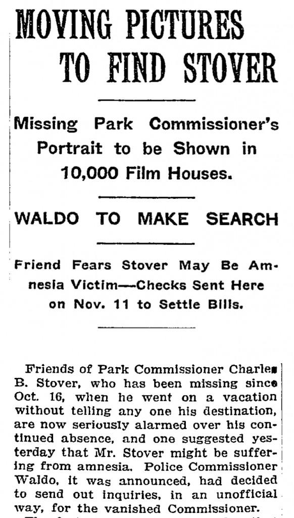 NEW YORK TIMES - 25 NOVEMBER, 1913