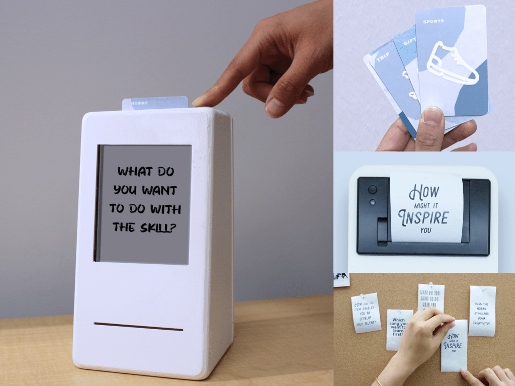 Purpal: An interactive box that enables positive mental traveling