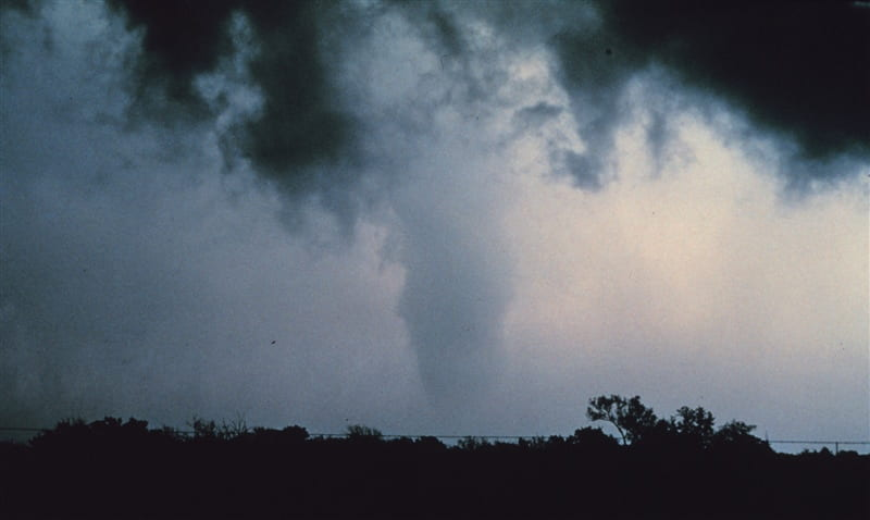 Tornado in OK 1984