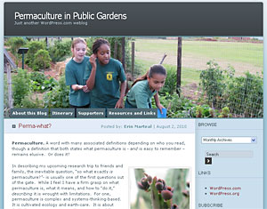 Visit Erin's blog, Permaculture in Public Gardens