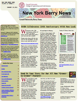 New York Berry News