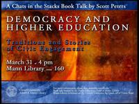 Chats in the Stacks:  Democracy and Higher Education