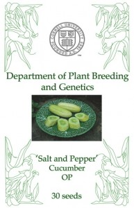 Seed sales benefit Synapsis, the Dept. of Plant Breeding and Genetics grad student organization.