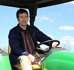 Glen Evans, new director of agricultural operations for the Cornell University Agricultural Experiment Station (CUAES)