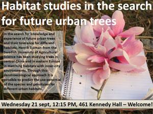 urban tree seminar