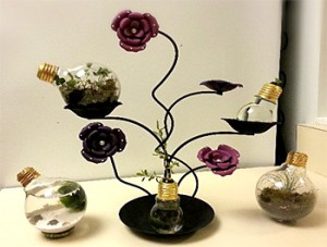 'Lighting up the World' Art of Horticulture project
