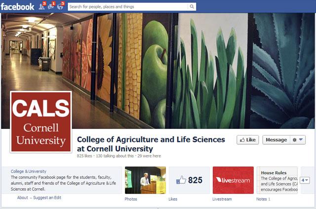 CALS on Facebook
