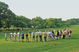 Golf field day