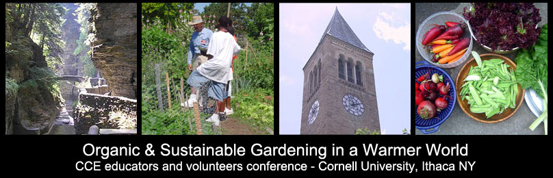 Gardening in a Warmer World Cornell Cooperative Extension Educators and Volunteers Conference