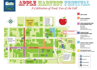apple festival map