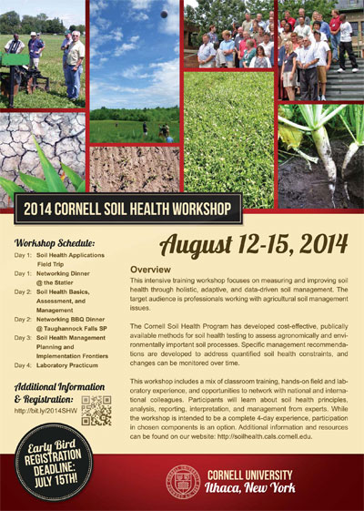 soil health workshop flyer