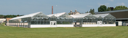 nysaes greenhouse exterior