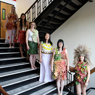 botanical fashion show