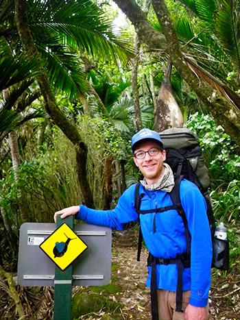 Ian Peach in New Zealand