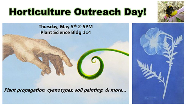 hort outreach day poster