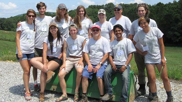 Cornell's 20016 Weeds Team.
