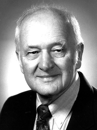 Ed Oyer, chair of the Department of Vegetable Crops from 1966 to 1971