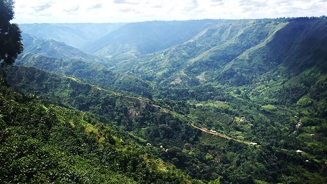 Cauca region landscape