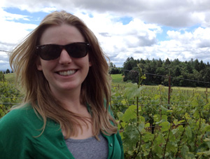Lindsay Jordan was also a 2013 Dreer Award Winner  who traveled to New Zealand to explore cool-season viticulture practices.