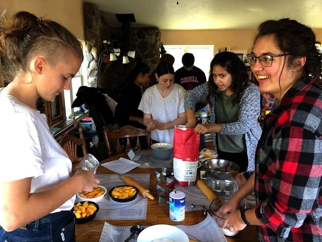 plant sciences majors baking pies