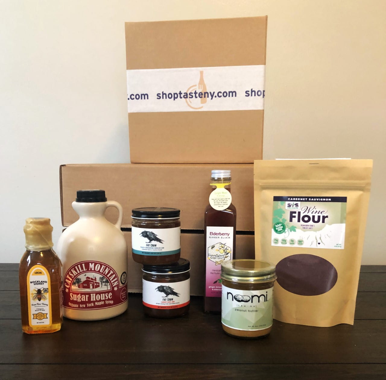 A selection of Shop Taste NY goods