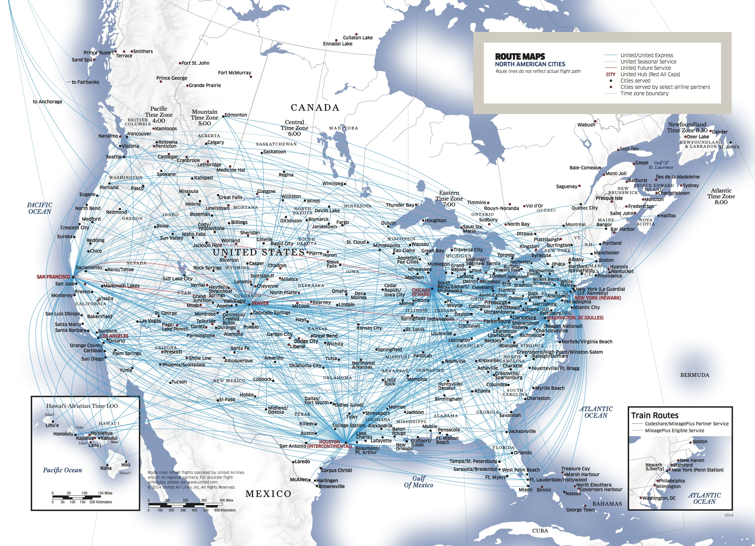 Reflection On Airlines SpokeHub Network After OHare Fire - Us airways europe route map