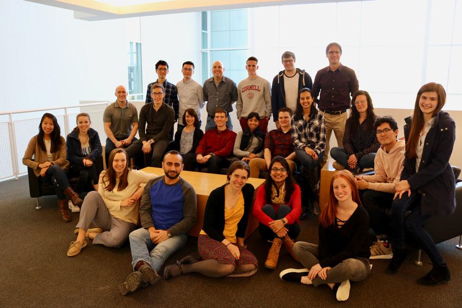 Lammerding lab group photo, Spring 2018