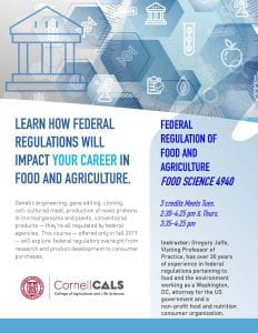 flyer advertizing course on regulation