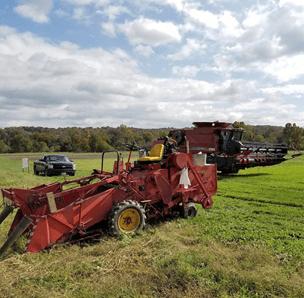 hemp harvesting equipment