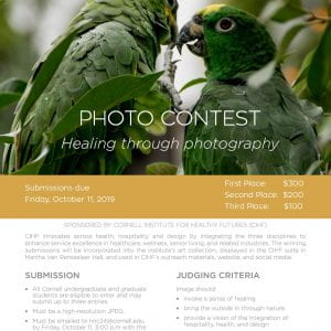 2019 Photo Competition Flyer
