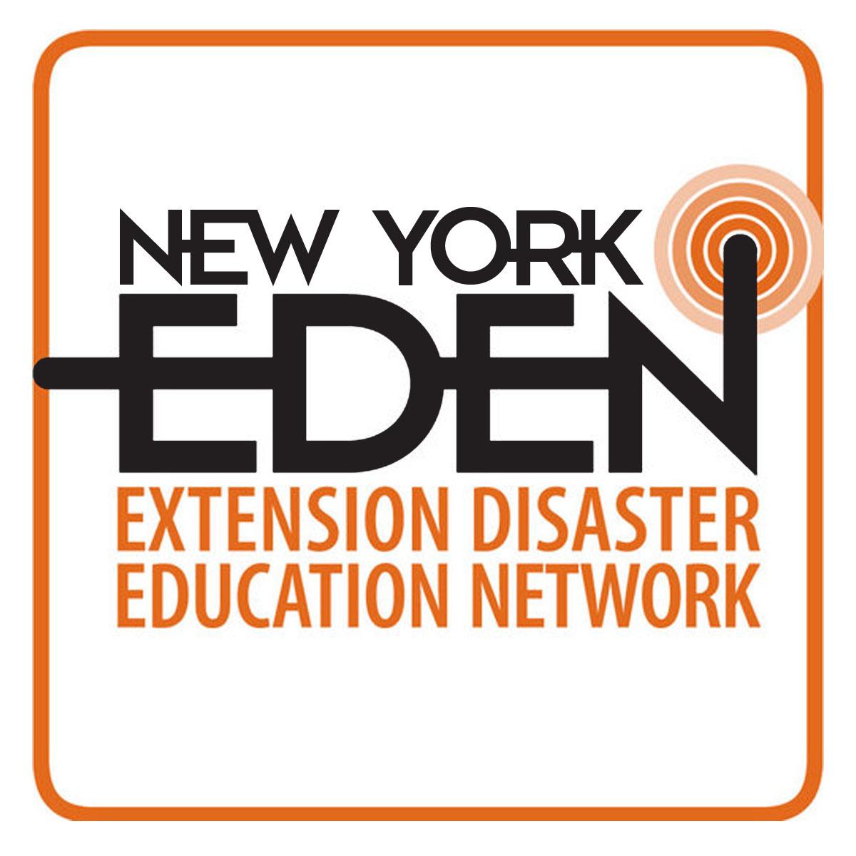 New York EDEN (Extension Disaster Education Network) logo