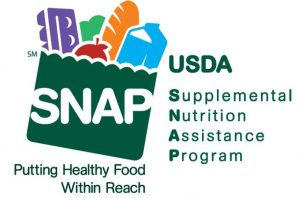 USDA Supplemental Nutrition Assistance Program (SNAP) Putting Healthy Food Within Reach logo