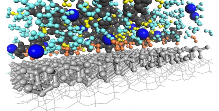 Hydrodynamics in Organo-Mineral Nanopores