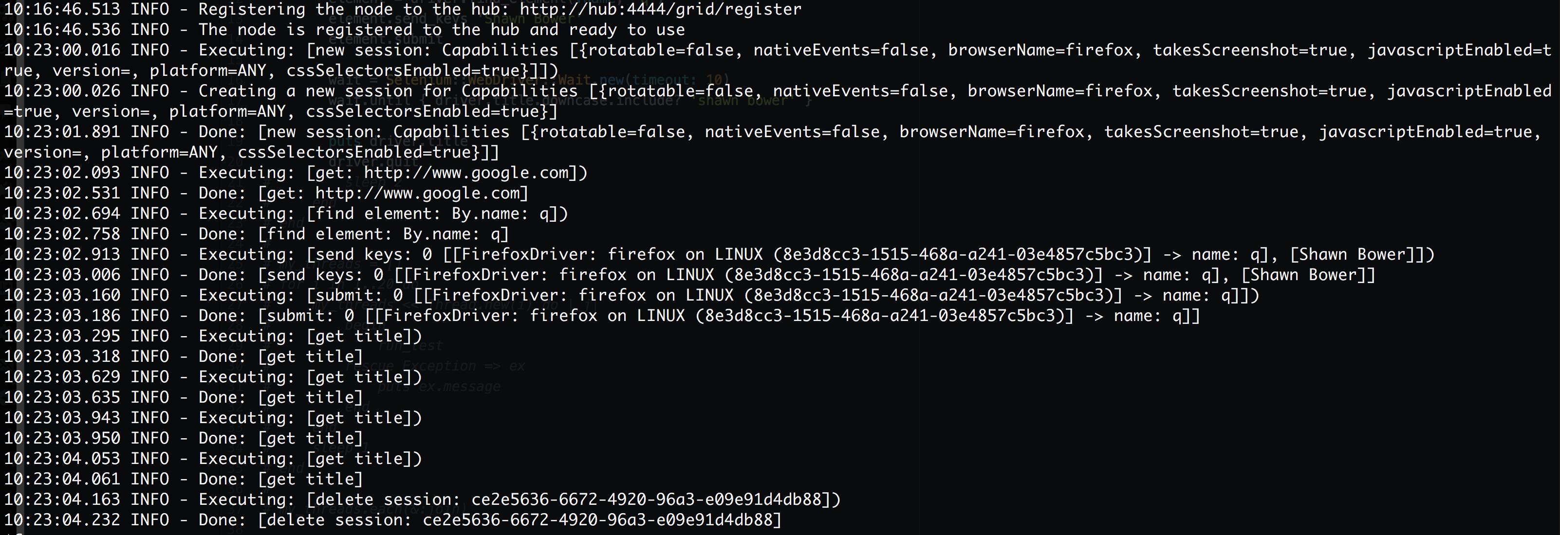 selenium_infrastructure_—_-bash_—_159×41