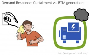 Curtailment vs BTM