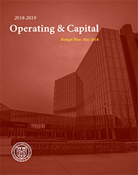 2018-2019 Operating And Capital Plan Cover