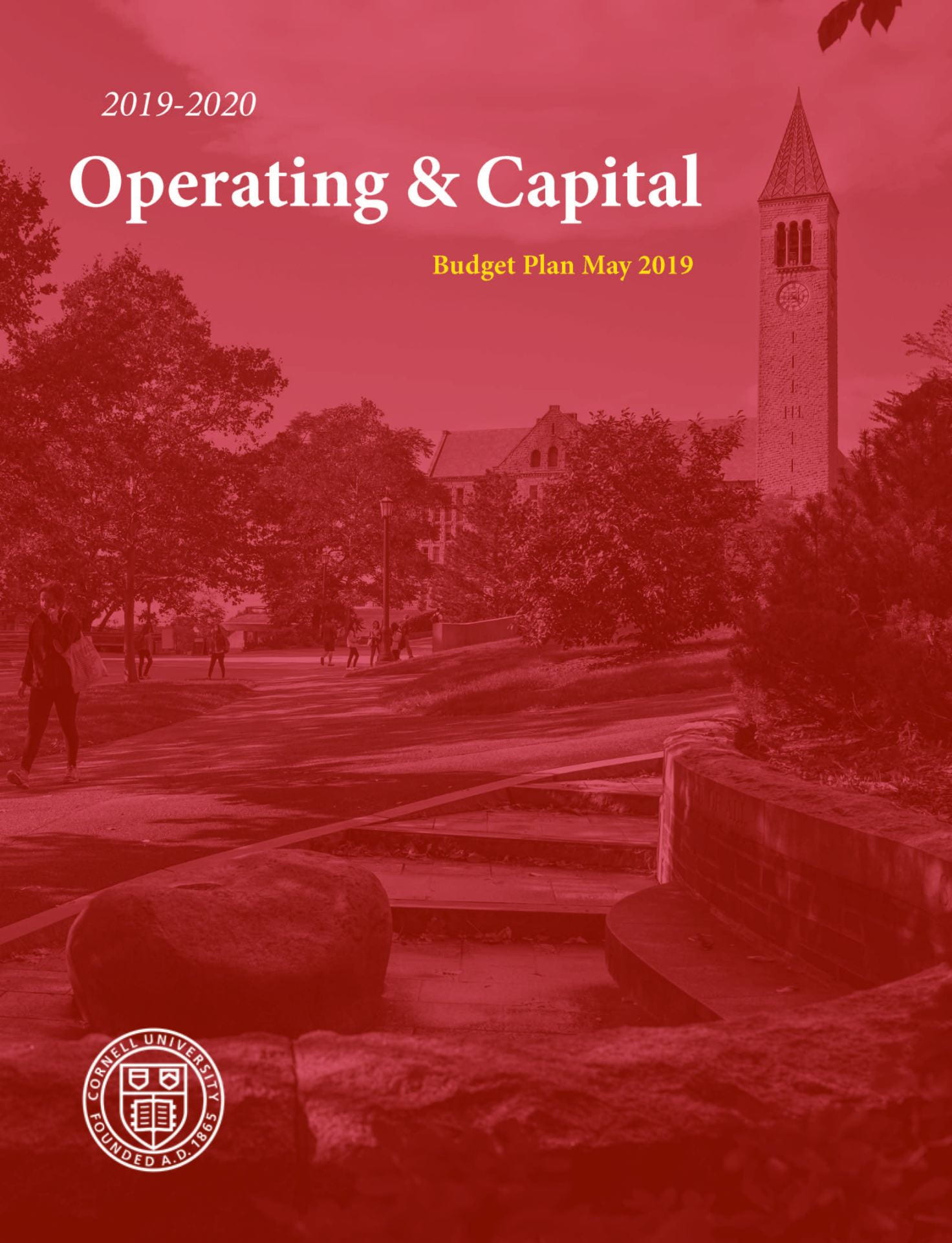 2019-2020 Operating And Capital Plan Cover