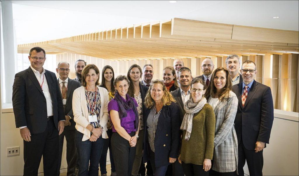 The Alumni Association Executive Board group photo