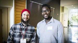 Students and alumni gathered for the latest Coffee and Conversation event
