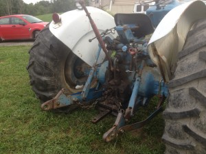"A three point hitch is a critical ""must have"" for most tractors nowadays."