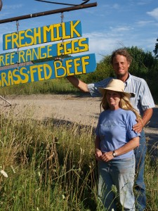 Adirondack Grazers Richard and Cynthia Larson operate a grass-fed beef operation located in Wells, Vermont.