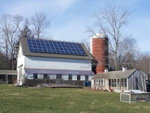solar powering farm house
