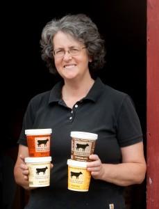 Cobb Hill Frozen Yogurt owner partner Jeannine Kilbride. Credit: Robert Eddy