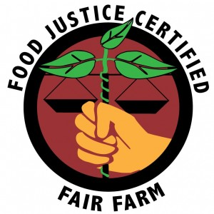 Logo for Food Justice Certification
